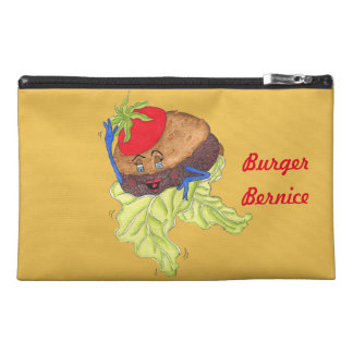 "'Burger Bernice' 9""x6"" Pencil Case"