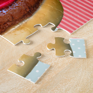 Burger Birthday Cake Jigsaw Puzzle