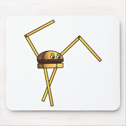 Burger Bot Mouse Pad