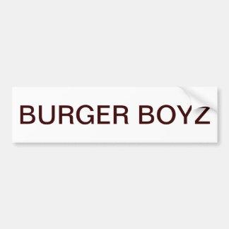 BURGER BOYZ BUMPER STICKER