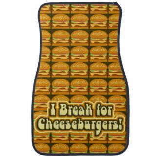Burger Break Car Mat