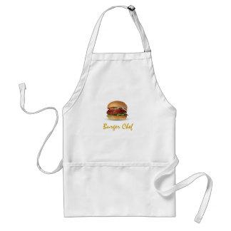 Burger Chef apron