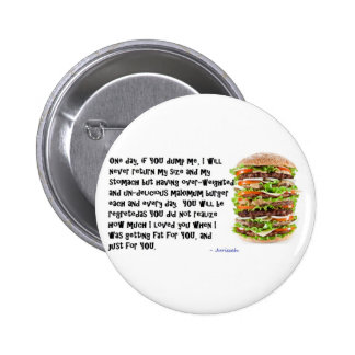 Burger Collection 2 Inch Round Button
