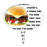 Burger Collection Cake Toppers