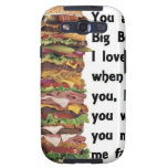Burger Collection Galaxy SIII Case