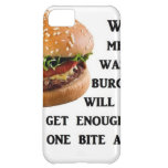 Burger Collection iPhone 5C Covers