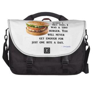Burger Collection Laptop Computer Bag