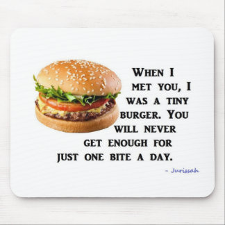 Burger Collection Mouse Pad