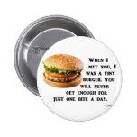 Burger Collection Pinback Button