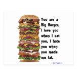Burger Collection Postcard
