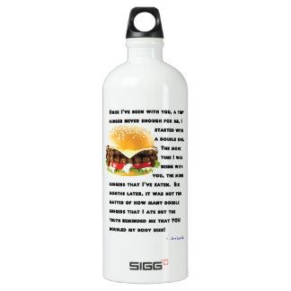 Burger Collection SIGG Traveler 1.0L Water Bottle