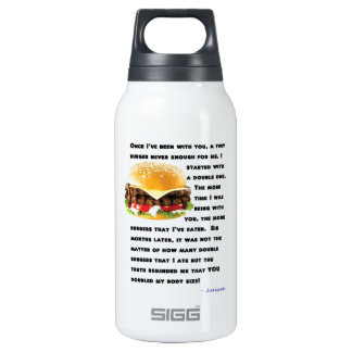 Burger Collection Thermos Bottle