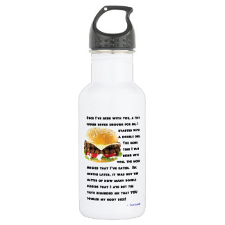 Burger Collection Water Bottle