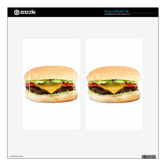 burger decals for kindle fire