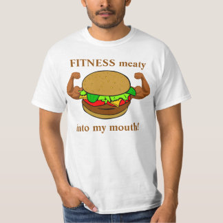 Burger Fitness Shirt