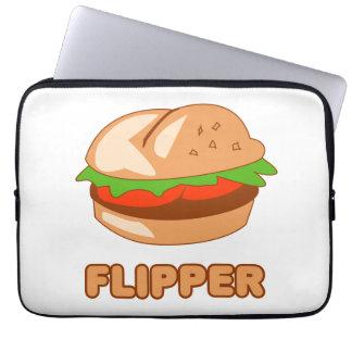 Burger Flipper Computer Sleeve