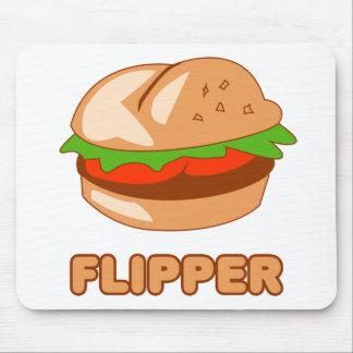 Burger Flipper Mouse Pad