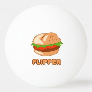 Burger Flipper Ping-Pong Ball