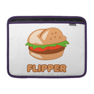 Burger Flipper Sleeves For MacBook Air