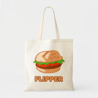 Burger Flipper Tote Bag