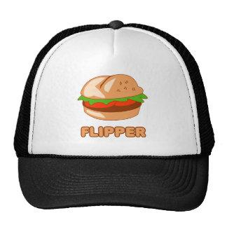 Burger Flipper Trucker Hat