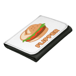 Burger Flipper Leather Wallets