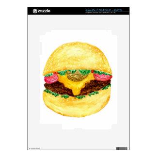 Burger Food 2 Decals For iPad 3