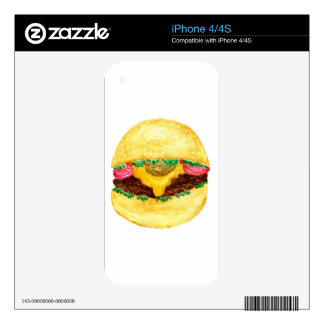 Burger Food 2 Decals For The iPhone 4