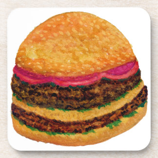 Burger Food 3 Coaster