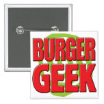 Burger Geek Badge