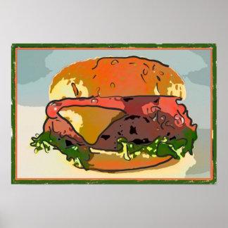 Burger Italiano Poster