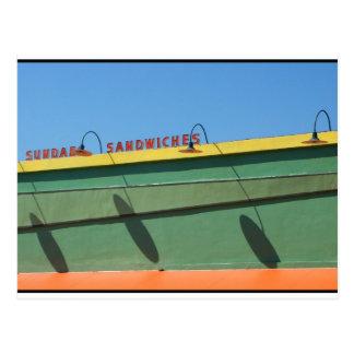Burger Joint Los Feliz California - August 2008 Post Card