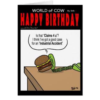 Burger Killed Greeting Cards