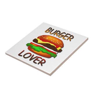 Burger Lover Hamburger Tile Trivet