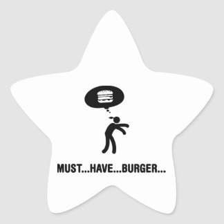 Burger Lover Stickers