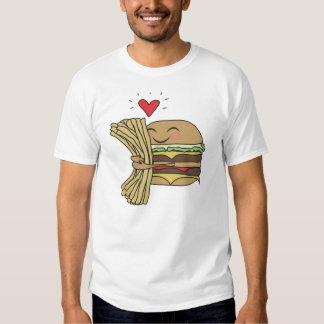 Burger Loves Fries Shirt
