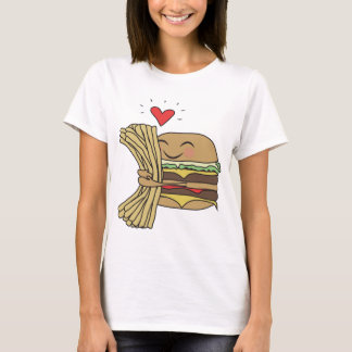 Burger Loves Fries T-Shirt
