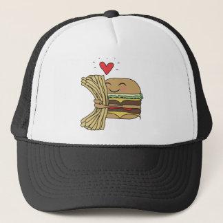 Burger Loves Fries Trucker Hat