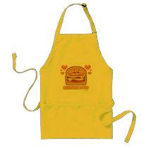 Burger Lovin Burger Love Adult Apron