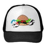 Burger Man Hats