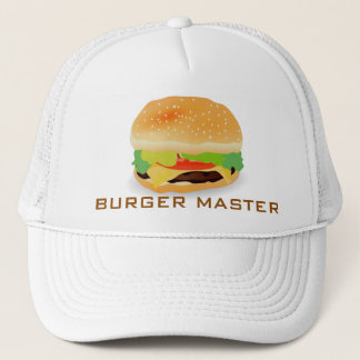 Burger Master 3 Trucker Hat