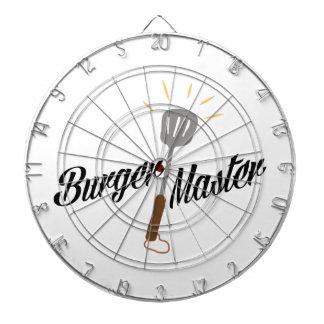 Burger Master Dart Board