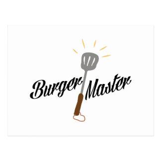 Burger Master Postcard