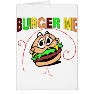 Burger Me Card