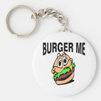 Burger Me Keychain