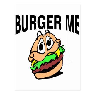 Burger Me Postcard