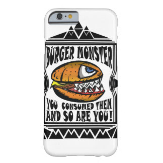 Burger Monster Barely There iPhone 6 Case