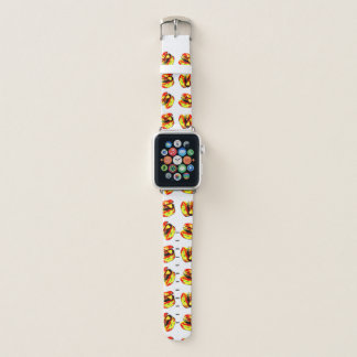 Burger Pattern Apple Watch Band