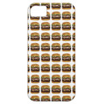 Burger Pattern iPhone 5/5S Cases