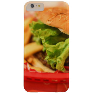 Burger served with fries barely there iPhone 6 plus case